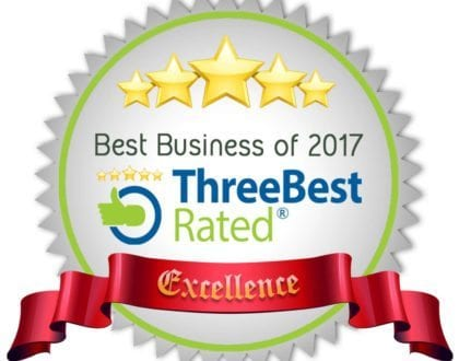 Awarded Three Best Rated